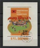 ALBANIA, FINAL FIGHT OF THE INTERNATIONAL SPOARTAKIADE 1984, U BLOC - Albanie