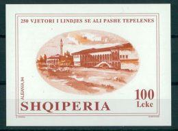 ALBANIA, 250th YEAR ANNIVERSARY OF ALI PASCHA TEPELENA 1995, NH BLOC - Albanie