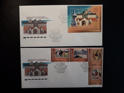 RUSSIA 2006 MNH (**) FDС Tretyakov Gallery  2 Envelopes - 1992-.... Fédération