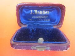 Getriebe-Einstellung Für Leeren Innenraum Blue Velvet Juwel J.BENDER JUWELIER-WIESBADEN DEUTSCHLAND Boite écrin à Bijou - Supplies And Equipment