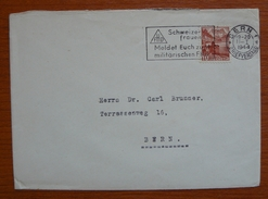 Cover - Letter - Sobre De Suiza 1944 - Schweiz