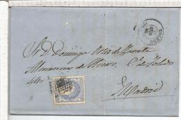 ESPAÑA ENVUELTA DE TOLEDO A MADRID 1872 - Cartas