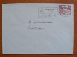 Cover - Letter - Sobre De Suiza 1953