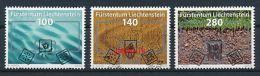 LIECHTENSTEIN Mi.Nr. 1566-1568 Erneuerbare Energie  -used