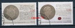 LIECHTENSTEIN Mi.Nr. 1622-1623 150 Jahre Verfassung Und Landtag  -used - Used Stamps