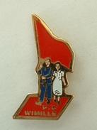 PIN´S PARTIE COMUNISTE WIMILLE - Badges