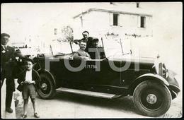 RARE 20s CITROEN B2 TORPEDO VOITURE POLICE CAR GENDARMERIE FRANCE ORIGINAL REAL PHOTO FOTO POSTCARD CARTE