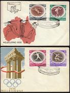 Poland Warsaw 1956 Olympic Games Melbourne 1956 / Athletics, Gymnastics, Fencing