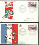 France Paris 1960 / Olympic Games Rome 1960 / Alexandre François Étienne Jean Bouin, Olympic Medalist 1908, 1912