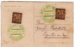 """1937   Cachet Commemoratif   """" Journée Du Timbre """" Durée 1 Jour 14/02"""