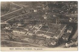 Hôpital Militaire De Plantières Vue Générale 1928 Queuleu Metz - Metz