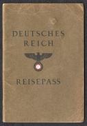 REISEPASS Allemand 1938 - 1939-45
