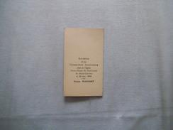 REMICOURT SOUVENIR DE MA COMMUNION SOLENNELLE DENISE PLUCHART LE 20 JUIN 1948 EGLISE NOTRE DAME DE REMICOURT - Images Religieuses