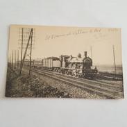 Train - Locomotive à Vapeur - Entre Saint Denis Et Villiers Le Bel - Cliché Romouil - Bel état - Eisenbahnen
