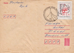 Postal History Cover: Hungary With Intercosmos Cancel