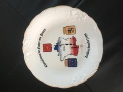 Assiette Leffrinckoucke Championnat De France Des Jeunes 1996  Tir A L Arc - Archery