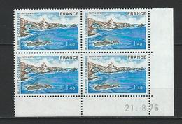 "Coins Datés  YT 1903 "" Biarritz "" Neuf** Du 21.8.76 - 1970-1979"