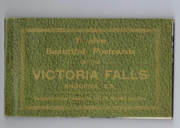 Victoria Falls, Twalve Beautiful Postcards ,  12 Cartes Postales Detachables - Cartes Postales