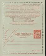 Entier Carte Lettre Pneumatique Chaplain 19F Rouge Orange Storch P316 V2 Cote 35 Euros