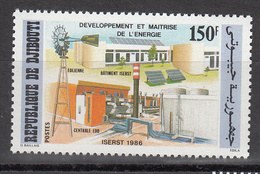 1986 Djibouti Solar Energy Installation Green Environment Complete Set Of 2 MNH