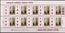 """2016 Schweiz Mi. 2431-2** MNH     100 Jahre Avantgarde-Bewegung """"Dada"""""""