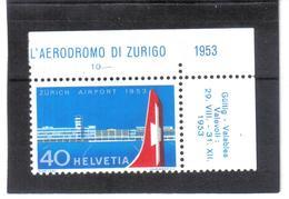 GUT389 SCHWEIZ 1953  MICHL  585 ** Postfrisch  ZÄHNUNG Siehe ABBILDUNG