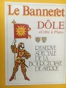 4223 - Le Banneret Dôle Crête à Plan Réserve De La Bourgeoiseie Sierre Valais Suisse - Etiquettes