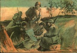 1942, LENINGRAD BLOCKADE: Propaganda Card Privately Used From TISCHWIIN (Leningrad Oblast) To GORKI With Censor.