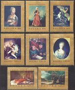 POLAND 1967  Famous Paintings MNH