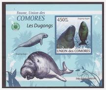 109 Comores 2009 Zeekoe Lamentijn Sea-cow S/S MNH Imperf