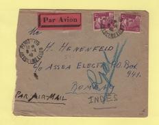 Marianne De Gandon - Destination Bombay Indes - 8-4-1946 - 1921-1960: Moderne