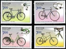 2008 4v Russia Russland Russie Rusia Bicycles Mi 1518-1521 MNH ** - 1992-.... Federazione