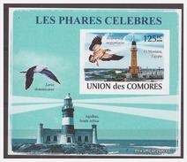 113 Comores 2008 Vuurtoren Lighthouse Bird Goose S/S MNH Imperf