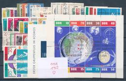 DDR Jahrgang 1962 Gestempelt Kpl. Mi. 150,-