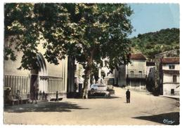 Saint NAZAIRE De LADAREZ - La Place De L'Eglise - TRES RARE ! - Lamalou Les Bains