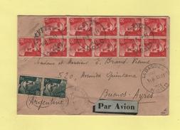 Marianne De Gandon - Destination Buenos Aires - Argentine - La Bassee Nord - 30-11-1946 - 1921-1960: Moderne