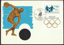 Germany DDR Berlin 1988 / Olympic Games Seoul / Athletics - Ete 1988: Séoul
