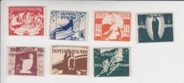 Sowjet-Unie Odessa-uitgifte 7 Zegels(volledige Set) (door De Sowjets Verboden Uitgifte) Vermeld In Michel-cataloog