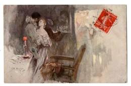 """ILLUSTRATEUR . CHARLES WILDA . """" PIERROT ET COLOMBINE """" . Edit. M. M. DE VIENNE - Réf. N°2864 - - Illustrateurs & Photographes"""