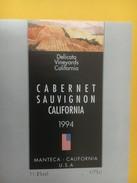 4238 - Cabernet Sauvignon 1994 Californie USA - Sonstige