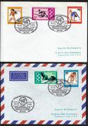 Germany Koln 1976 / Olympic Games Montreal / Philatelic Exhibition / Athletics, Gymnastics, Swimming