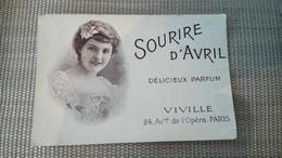 Carte Parfumée Soupire D'avril Viville - Vintage (until 1960)