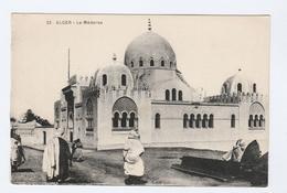 Old Postcard ALGER La MEDERSA Algiers Algeria - Scenes