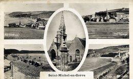 22 SAINT-MICHEL En GREVE Cpsm 5 Vues - Saint-Michel-en-Grève