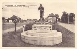 Grembergen, Bij Dendermonde, Standbeeld, Martelaarlaan En Oude Goudweg (pk36303) - Dendermonde