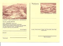 Österreich P 436-02 ** - 1,50 Sh Erzberg BiPo, 90 Jahre Alpine Montan, Bild  Steirischer Erzberg, Gesamtansicht