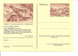 Österreich P 436-03 ** - 1,50 Sh Erzberg BiPo, 90 Jahre Alpine Montan, Bild  Steirischer Erzberg, Bagger + Schwerst-LKW