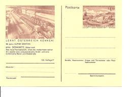 Österreich P 436-07** - 1,50 Sh Erzberg BiPo, 90 Jahre Alpine Montan, Bild  Feinwalzwerk In Donawitz
