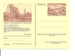 Österreich P 436-12 ** - 1,50 Sh Erzberg BiPo, 90 Jahre Alpine Montan, Bild  Bürohaus Der Maschinenfabrik Zeltweg