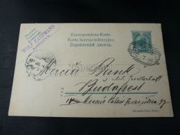 Lopatyn Lopatin Wolf Kaufmann Ukraine Mercur Bank Budapest Hungary 1905 - Ukraine